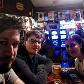 Where we watched the Raptors win the chip. Duke of Duckworth, St. John's.